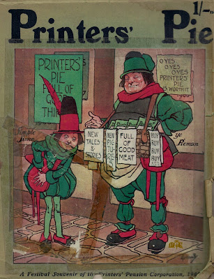 Printers' Pie 1909