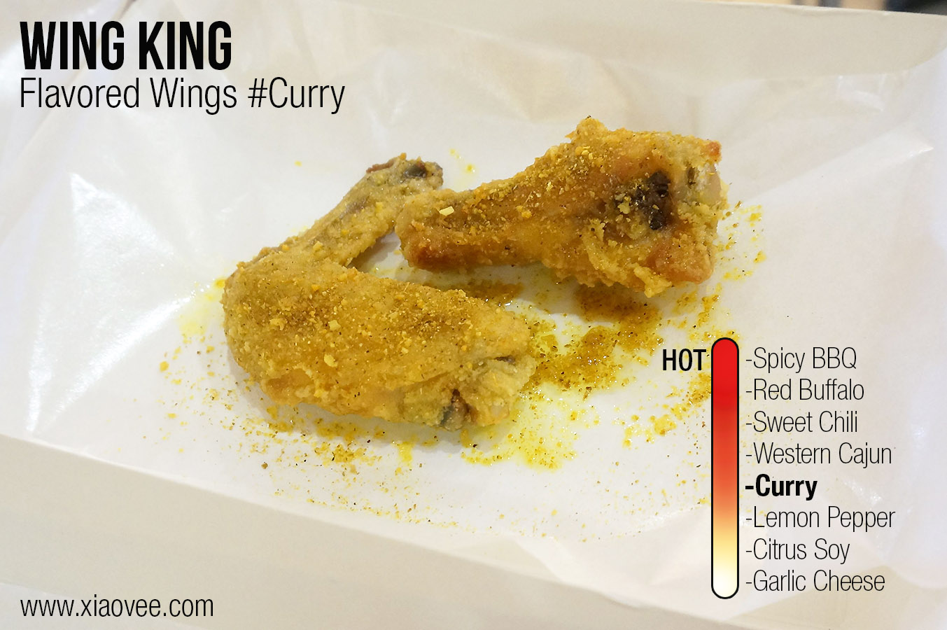 Wing King Surabaya, flavored wing king curry