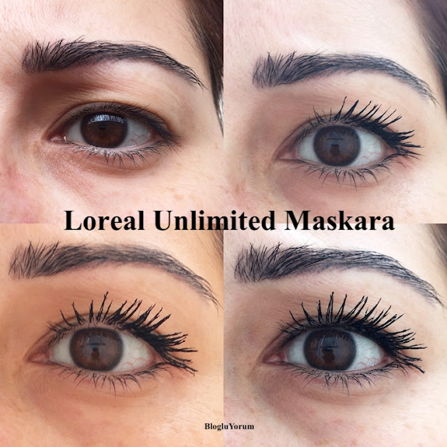 loreal unlimited maskara incelemesi swatch