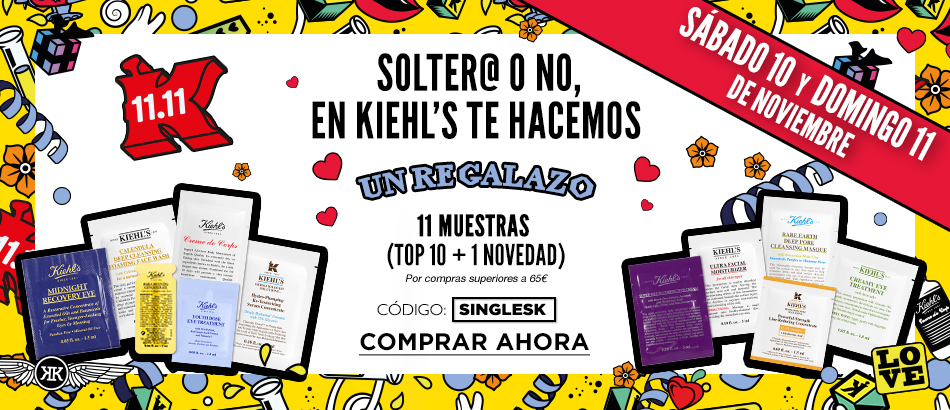 Fitness And Chicness-Singles Day Kiehls