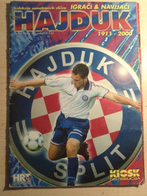 "Hajduk Split album sličice ""Hajduk- igrači i navijači 1991.-2000."""