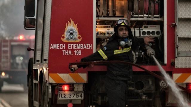 Κεχριές Κορινθίας: Σε ύφεση η πυρκαγιά
