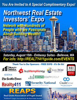 Northwest Real Estate Investors' Expo in Bellevue