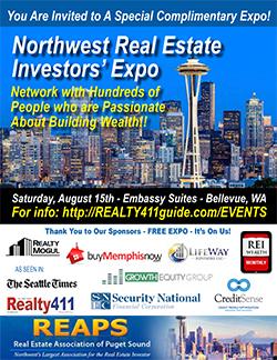 Northwest Real Estate Investors' Expo in Bellevue