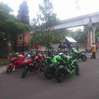 Foto Motor Kawasaki Ninja di Anak Jalanan RCTI
