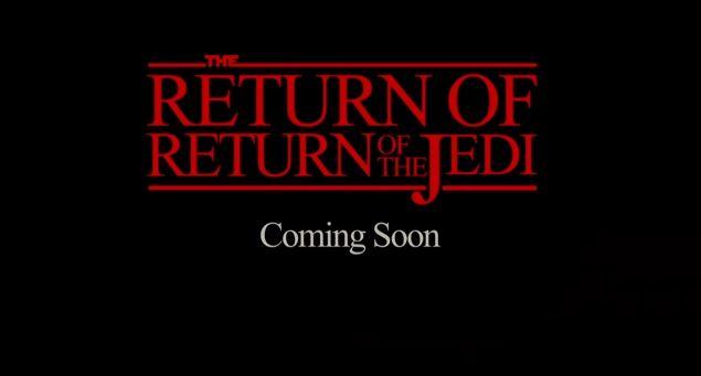 return of return of the jedi logo