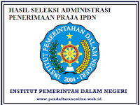 Pengumuman Hasil Tes Administrasi IPDN 2016