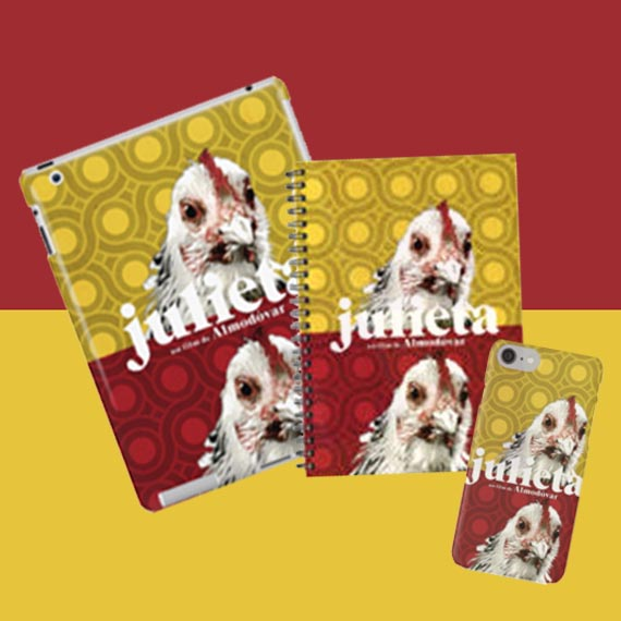 mobile and tablet cases, julieta film cover remake