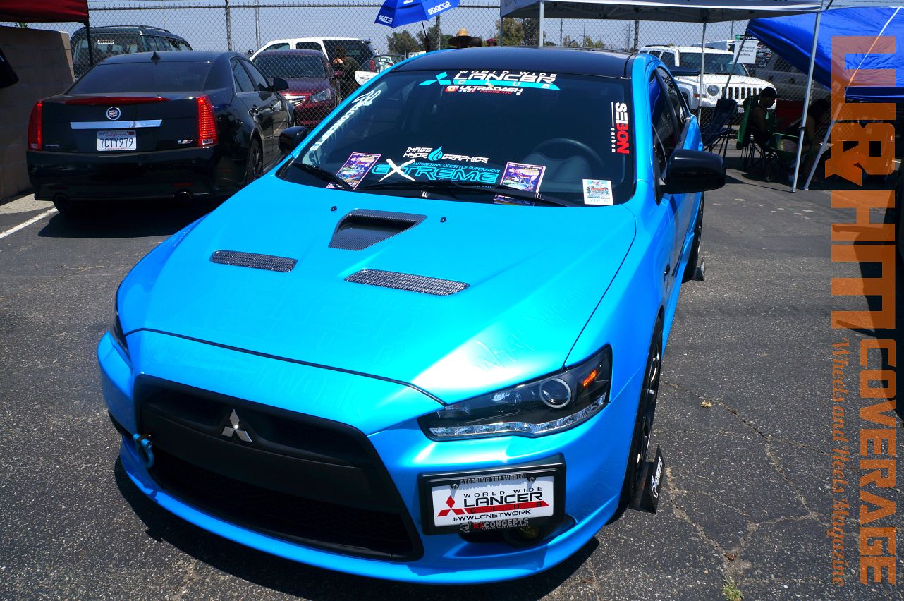Wheels and Heels Magazine Cars: World Wide Lancer Club Car at ...