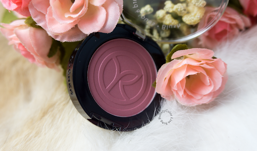 BubblyColor: Yves Rocher Blush in Rose Hortensia