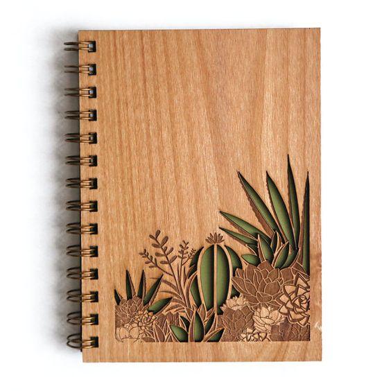 El rinc n vintage de karmela cuadernos de madera - Maderas al corte ...