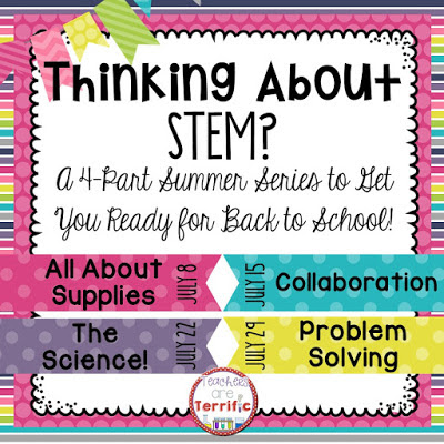 Summer STEM Series: this post is the first in a series of four that will get you set up to try STEM activities! It's easy, kids love them, so what are you waiting for?
