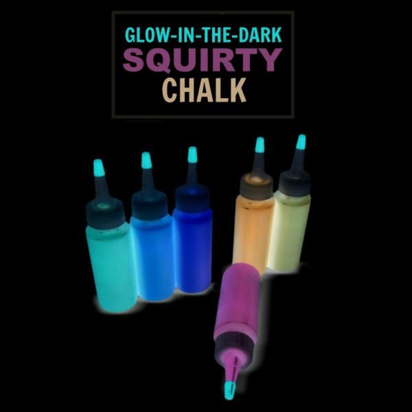Neon Squirty Chalk for Kids #playrecipes