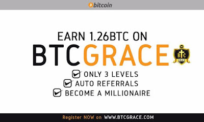 BTC Grace launch: Secure your spot and make over $3700 (N1,370,000.00) easily without being forced to refer anybody