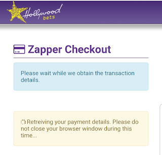 Zapper - Hollywoodbets - How to Deposit - Step 9