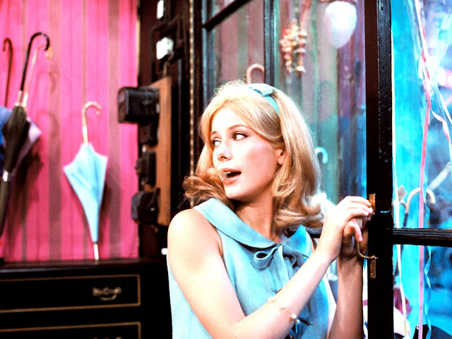 Catherine Deneuve, The Umbrellas of Cherbourg, Jacques Demy