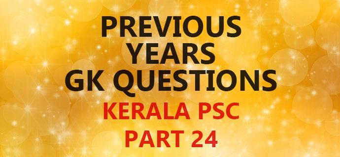 PSC GK Part 24