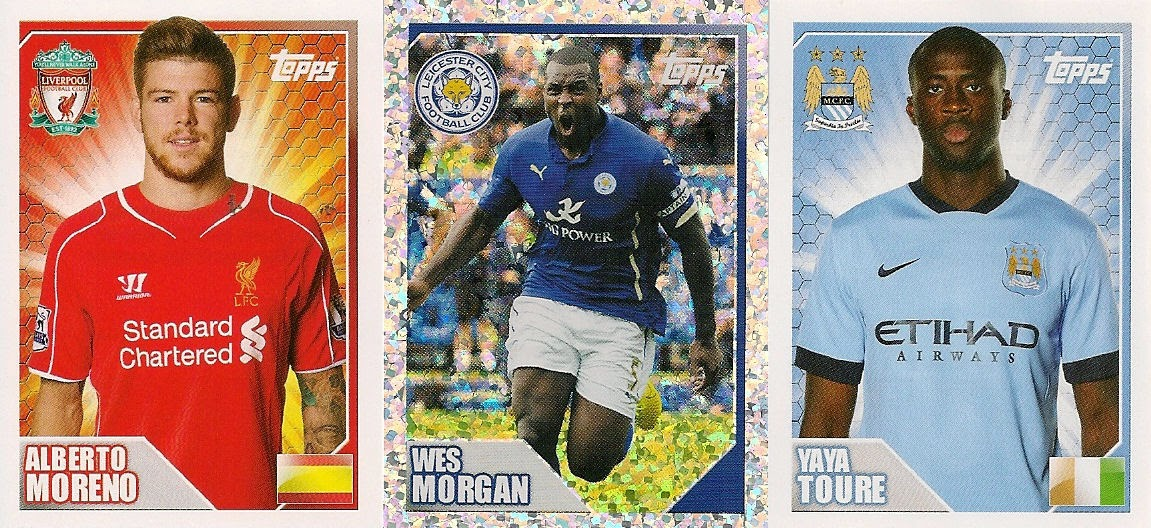 58130b0fb Football Cartophilic Info Exchange  Topps - Merlin s Premier League 2015  Official Sticker Collection (02)