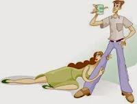 la pareja de un alcoholico cae en una dependencia emocional