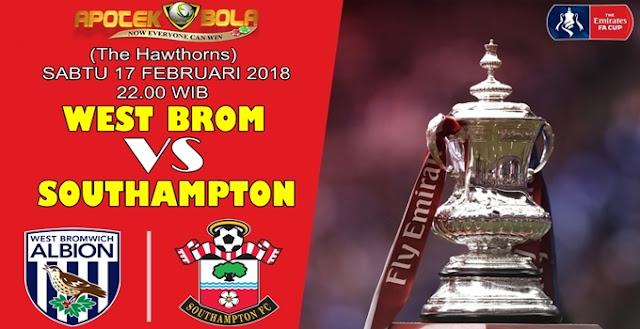 Prediksi West Bromwich Albion vs Southampton 17 Februari 2018