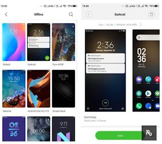 Cara Mengaktifkan Fitur DarkMode WhatsApp pada Xiaomi yang Berjalan di MIUI