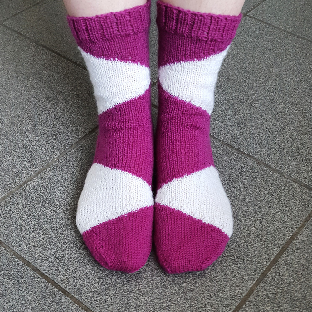 ca7d20483b93 As with some of my other sock patterns (e.g. Iceberg Socks or Battenberg  Socks)