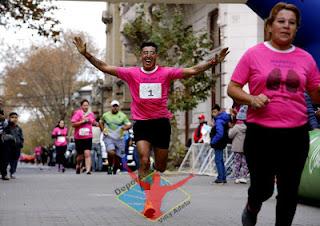 Maraton Lucha Contra el cáncer ganaron Luis Barrio y Lilian Cebrian