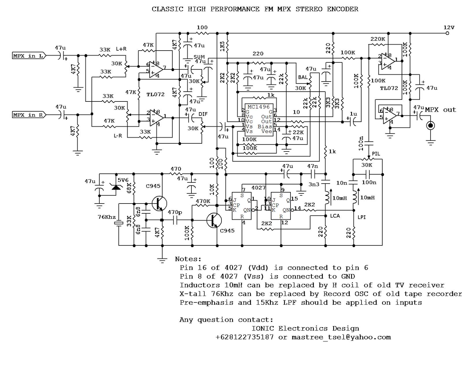 Electro Merancang Dan Membuat Sendiri Pemancar Fm Stereo