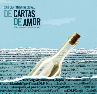 """Cartel XXII Certamen de Cartas de Amor """"Los mayores también amamos"""""""