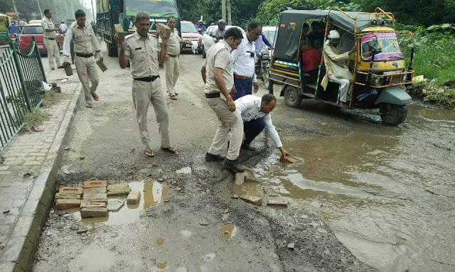 faridabad-police-in-social-action