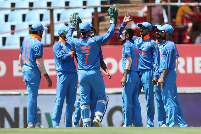 India win T20I series against South Africa