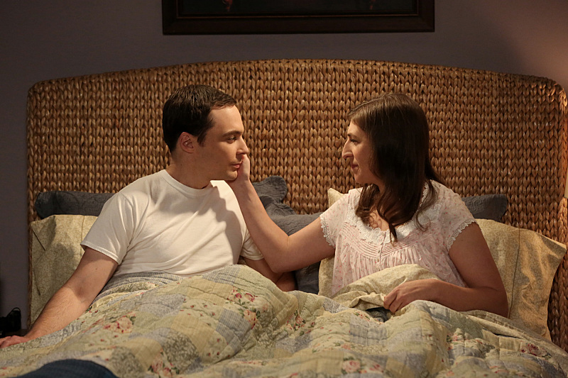 the big bang theory, amy, sheldon,