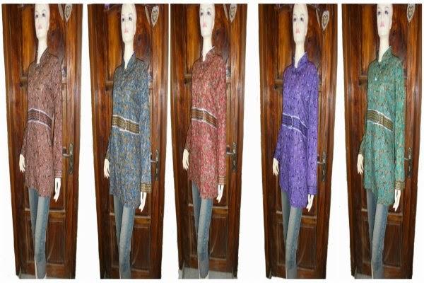 model baju batik wanita jumbo