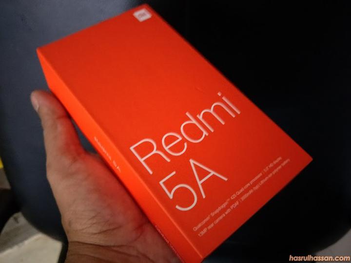 Beli Redmi 5A Untuk Kegunaan Emak