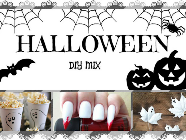 19. MIX. Halloween DIY & make up.