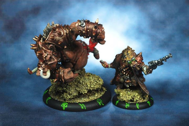 Rorsh and Brine painted by Kensei Yonzon photo