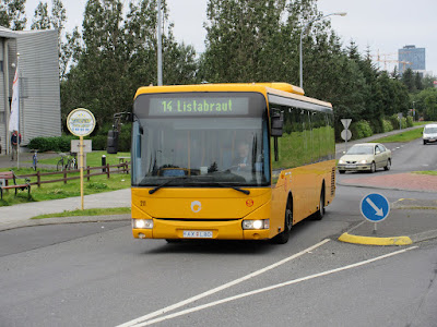The Reykjavik City Bus is the perfect public transport option