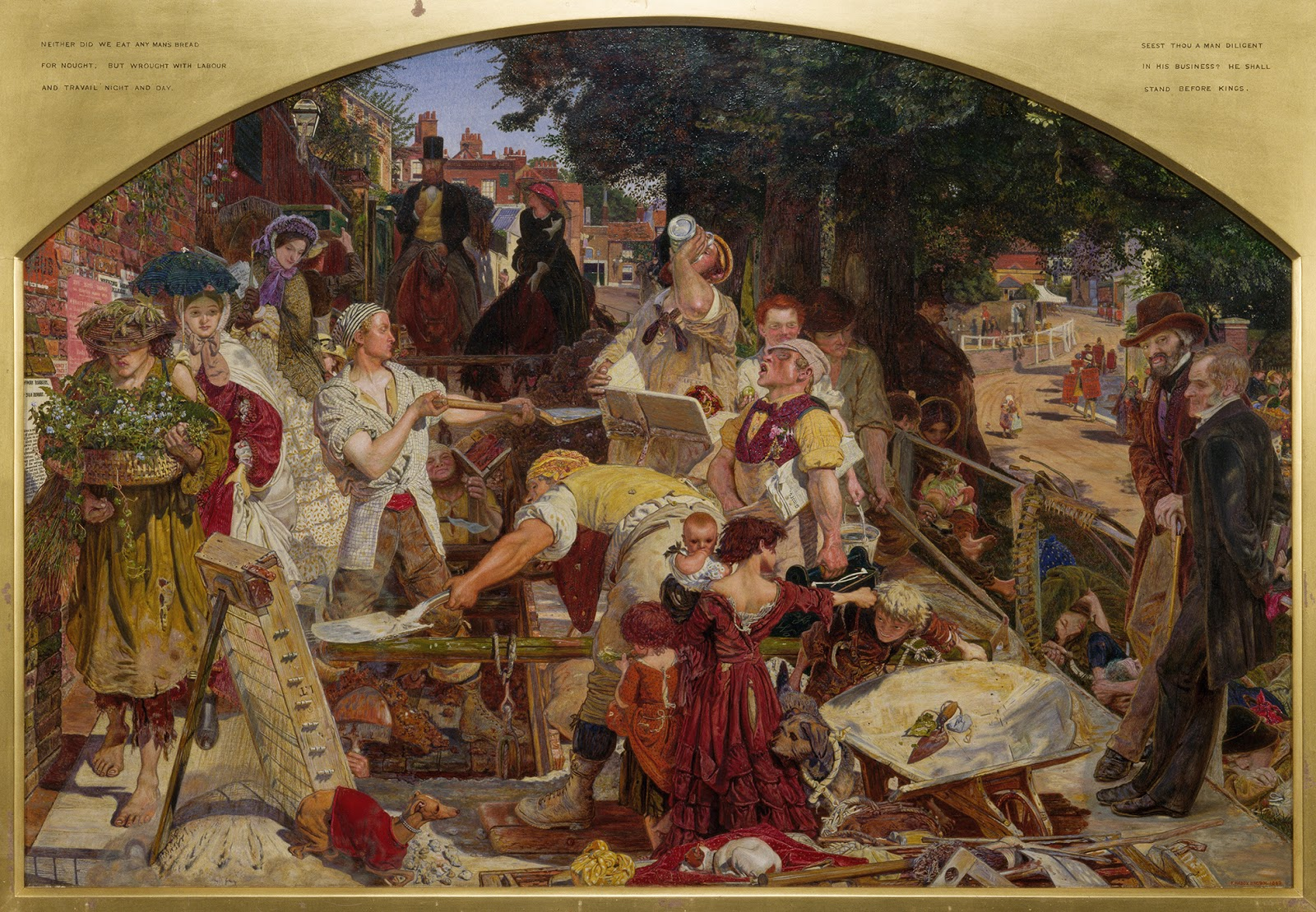 Ford Madox Brown - Work - Trabajo