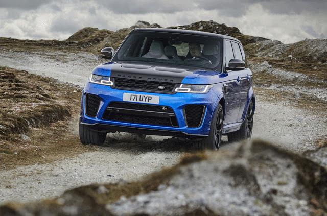 Range Rover Sport SVR 0-60 mph