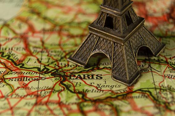 Viajando al pasado. Viajar a Paris