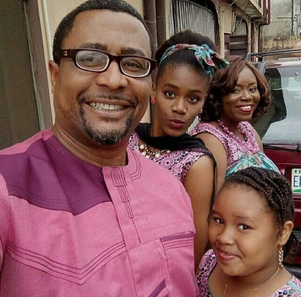 Tony Umez shares adorable photo of his family