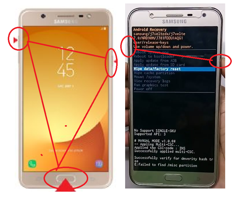samsung j701f frp unlock done adb enable file - MOBILE SOFTWERE AND