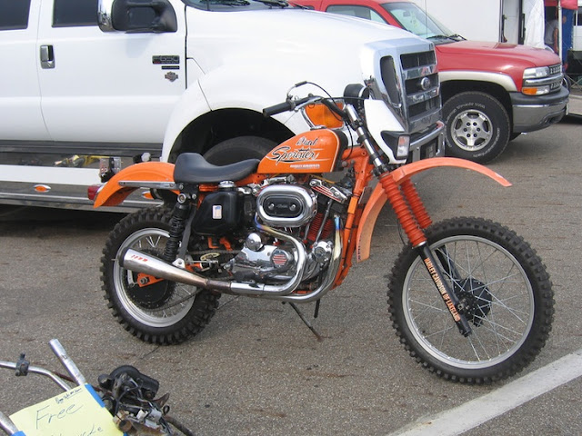 Sportster Off Road Motorcycle