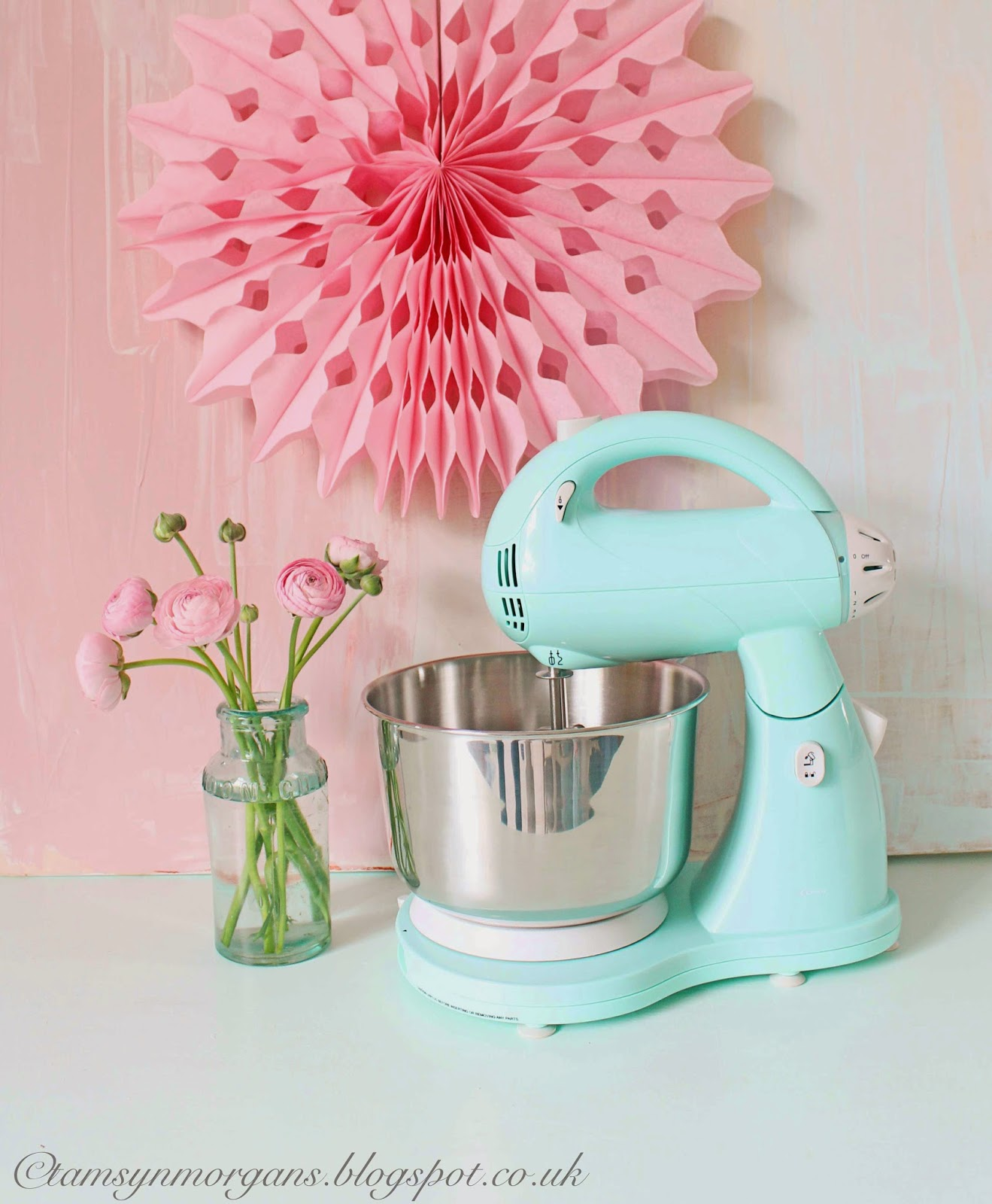 Mint Green Food Processor