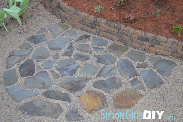 3 hour flagstone patio how to install diy gravel decomposed granite solutioingenieria