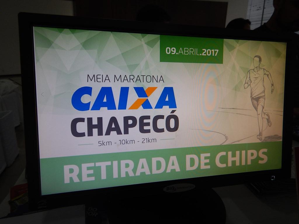 Meia Maratona de Chapecó Entrega de Kits