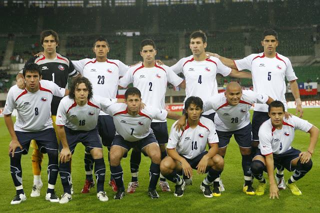 Formación de Chile ante Suiza, Turnier der Kontinente 2007, 7 de septiembre