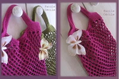 Paso a Paso Bolsa Red a Crochet