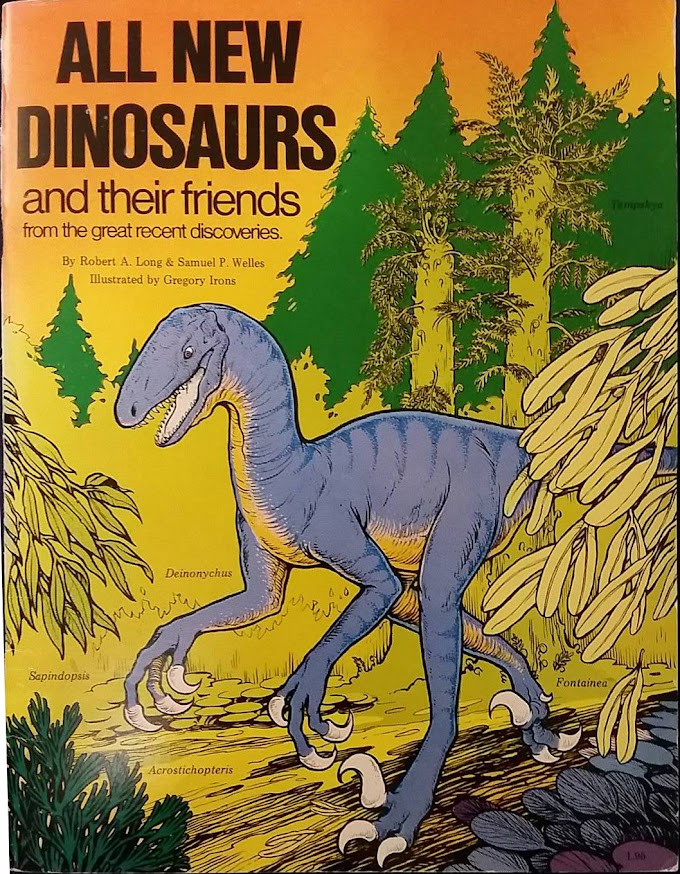 Vintage Dinosaur Art: All New Dinosaurs and their friends