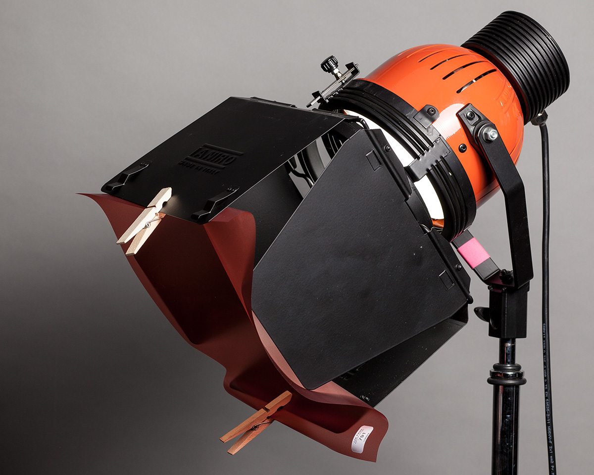 How To Attach Lighting Gels To Studio Battery Flash